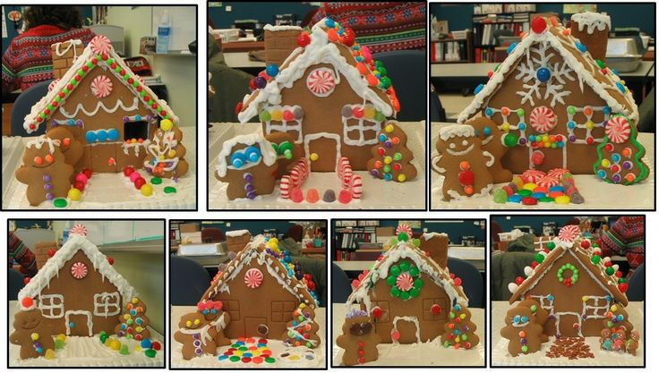 Gingerbread Houses made by students at the Algonquin Achievement Centre at their Christmas Party yesterday!