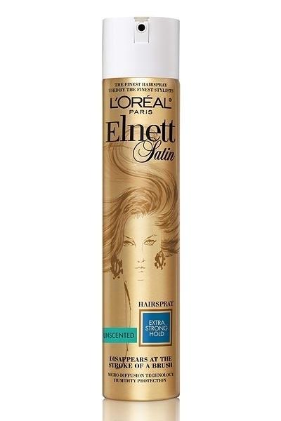 Elnett Satin Hairspray Unscented: Best hairspray ever.