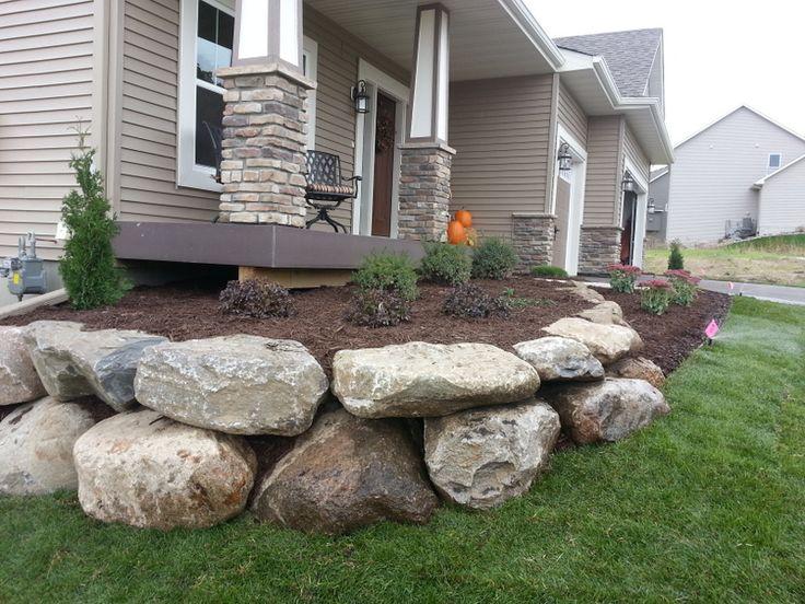 Best 25 boulder retaining wall ideas on pinterest rock for Limestone landscape rock