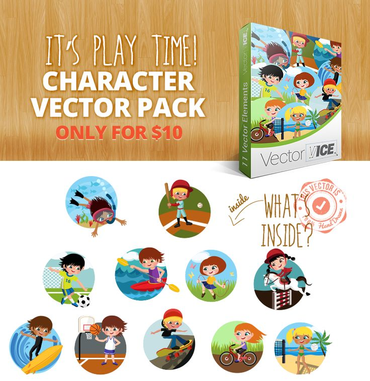 Download at: http://vectorvice.com/vector-packs/kids-activities-vector