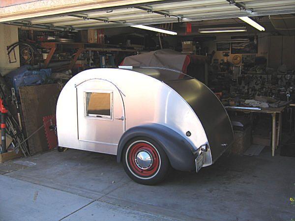 Teardrop Trailer Kit 8 Cubby : Best images about old vintage popular mechanics plans