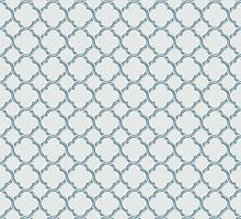 Blue Trellis by raymondwarenyc