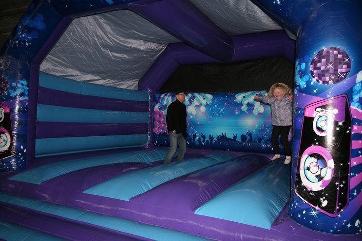 Large Adult Disco Bouncy Castle