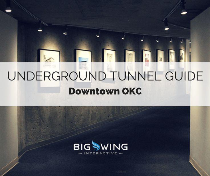 Downtown OKC Underground Tunnel Guide #OKC