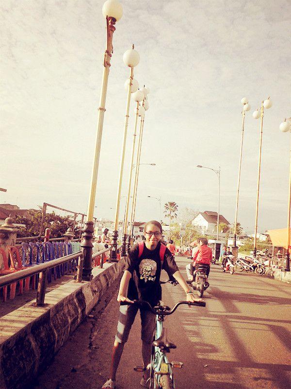 Happy New Year.. Siti Nurbaya Bridge at Batang Harau, Padang