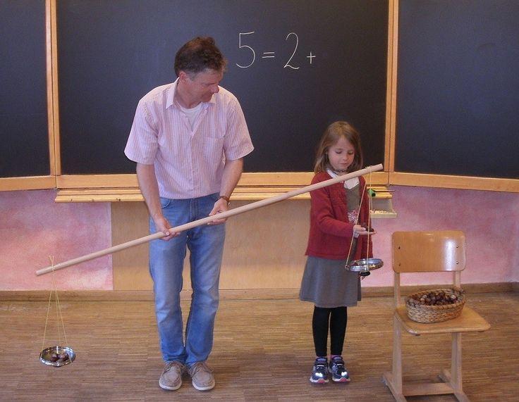 Waage! - Einführung der ersten Gleichungen