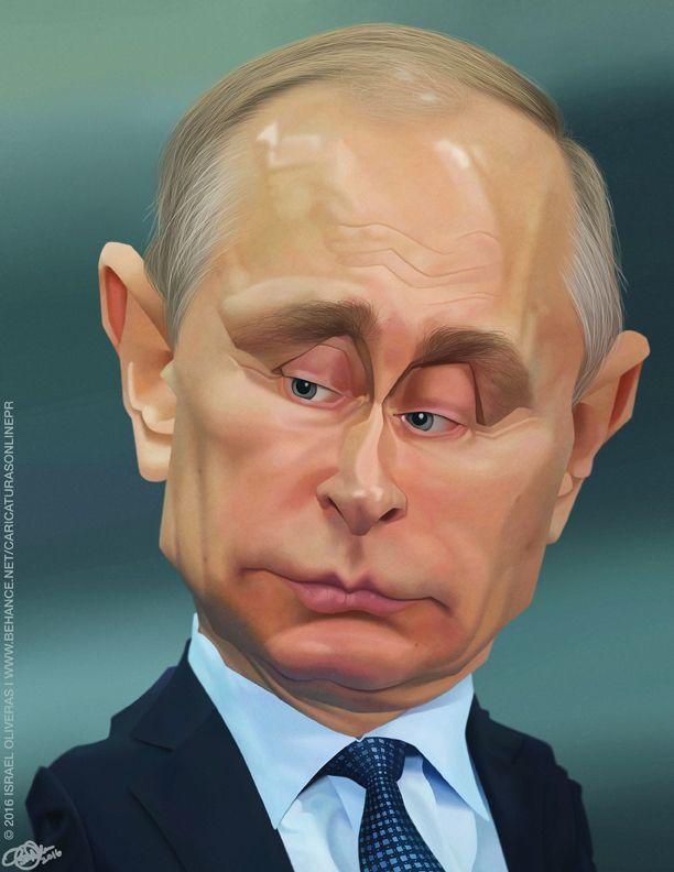 Vladimir Putin por Israel Oliveras