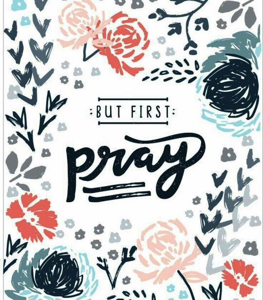 "Prayer should be your first choice, not your last resort. If you want God to help you overcome the odds in any area of your life, you have to turn to him first.  Go directly to God. Never let an impossible situation intimidate you. Let it motivate you to pray more and turn to God first.  Let's ""always be joyful and never stop praying"" (1 Thessalonians 5:16-17).  #Pray #Prayer #Jesus #SeekHimFirst #AbideInHimAndHeWillAbideInYou #Blessings"