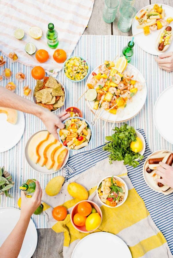Outdoor Summer Entertaining Ideas and Recipes.