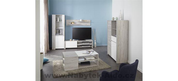 Obývací pokoj Luneo-sestava z dílů 0321