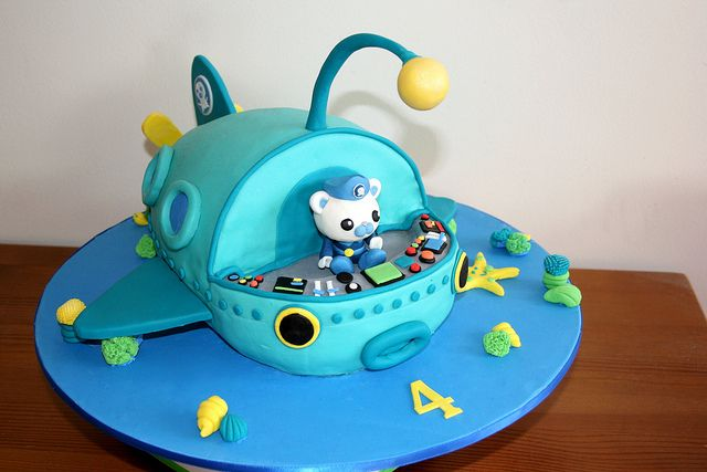 How to Make Octonauts Cake | Flickriver: Most interesting photos tagged with captainbarnacles