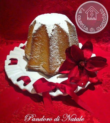 la casetta di cioccolato: Pandoro di Natale con lievito madre