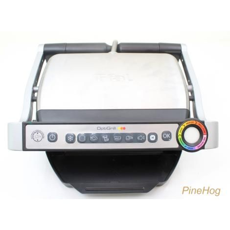 For Sale: T-FAL GC702D53 OptiGrill 1800 Watt Stainless Steel Indoor Electric Contact Grill