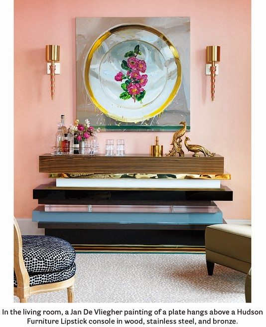 17 best images about house beautiful us edition on pinterest home remodeling pink walls and for Naomi in the living room script