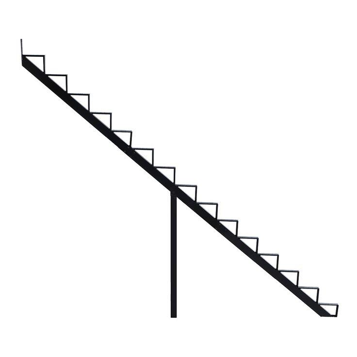 Best Pylex 7 5 In X 9 In Black 15 Step Aluminum Stair Riser 400 x 300