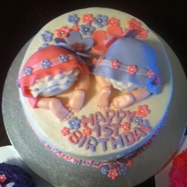 St Birthday Cake Ideas Twins Akbaeenw