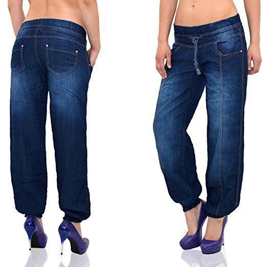 Damen jeans pump hose