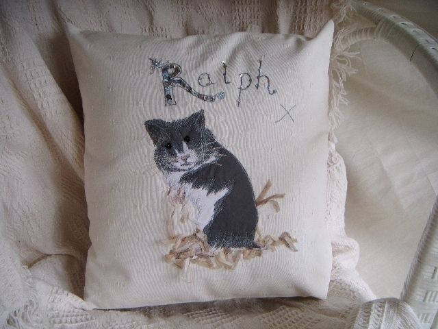 Cushion Personalised Hamster themed