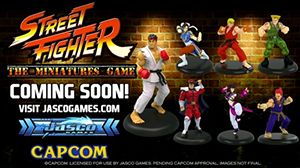 Street Fighter Board Game Miniature is coming soon