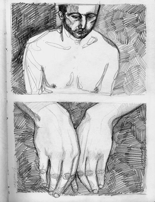scetchbook by Eve Adrienne Szumowska, via Behance