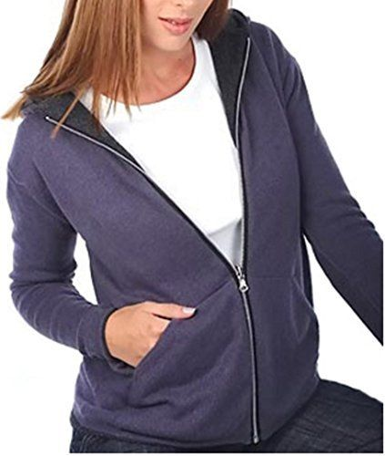 Product review for Balldiri 100% Cashmere Damen Wendejacke Hoody Sweater  Kapuze 4-fädig anthrazit - brombeere S. High quality Kashmir from Mongoli… 55fcc5562e