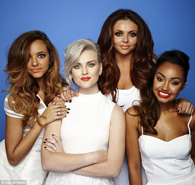 Jade, Perrie, Jesy and Leigh-Anne