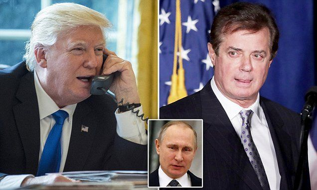BREAKING: New report claims Trump's team spoke to Russian intelligence #DailyMail
