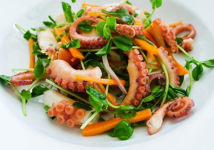 Японский салат из осминогов из якитории