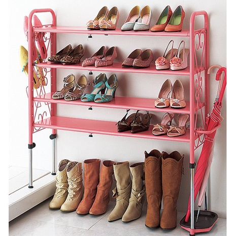 Pink Shoe holder? YES PLS.