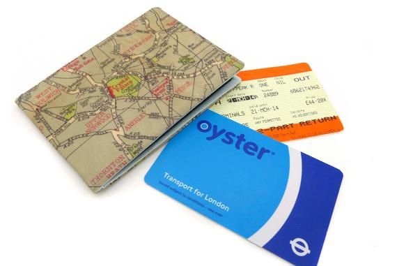 Oyster Card Holder Bus Pass Holder Travel Card Holder Wallet