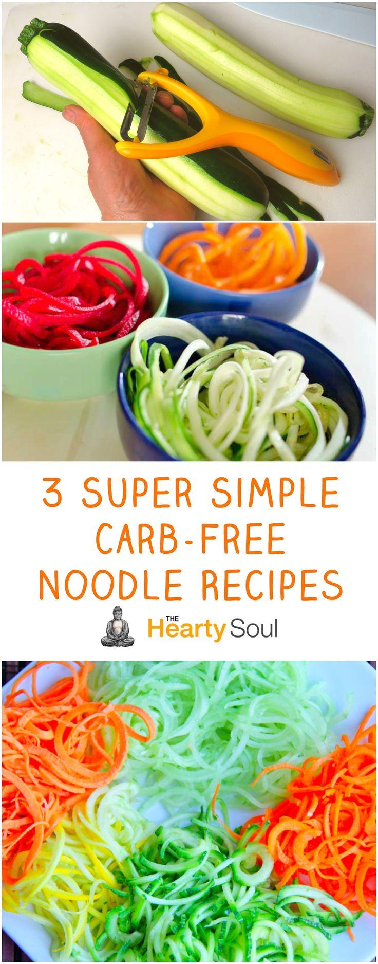 3 Super Simple Carb-Free Noodle Recipes