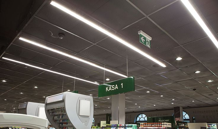 Fittings for commercial facilities and offices LED | I-LINE