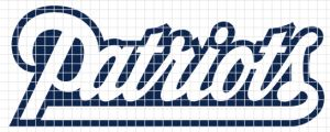 New England Patriots Crochet Graphghan Pattern (Chart/Graph AND Row-by-Row Written Instructions) - 02