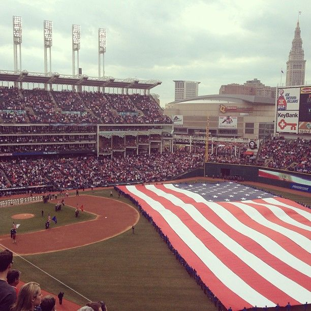 Cleveland Indians Opening Day 2013