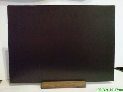 A3 Blackboard Table Top - Pub - Cafe - Counter Etc FOR USE WITH LIQUID CHALK