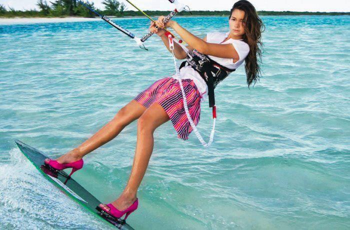 Kitesurf sexy girl ;)