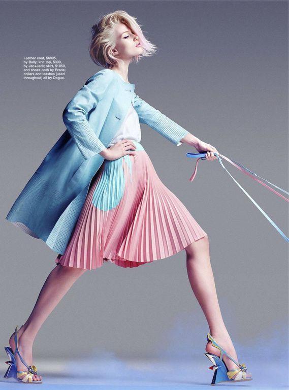 Blue & Pink, Fashion, Pantone Color(s) of 2016, Rose Quartz & Serenity, h-a-l-e.com: