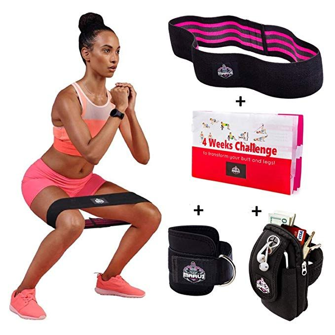 Gr Leg Resistance Band Exercise Band With Padded Ankle Cuffs Resistance Band For Leg And Butt Workouts Muscle Tone Gym Exercise Complete In Specifications Sports & Entertainment