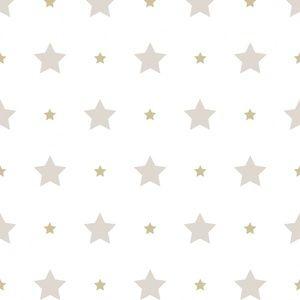 טפט כוכבים מוקה זהב