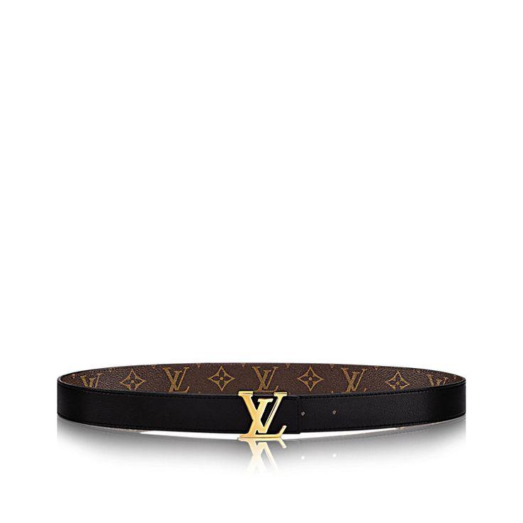 LV Initials 30 MM Reversible Leather Belt | LOUIS VUITTON