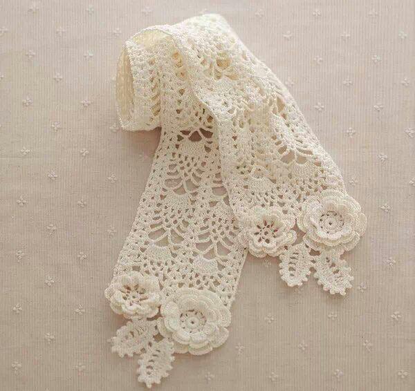 146 mejores imágenes de bufandas en Pinterest | Bufandas, Ganchillo ...