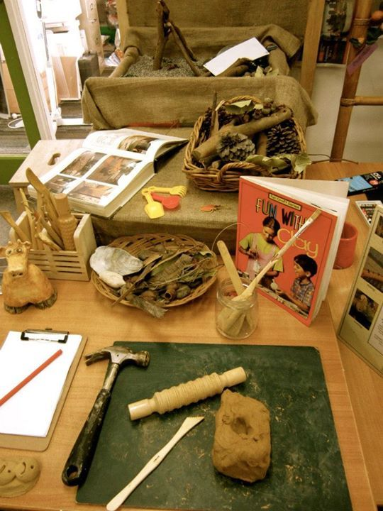 Clay Station At Sandringham Primary School