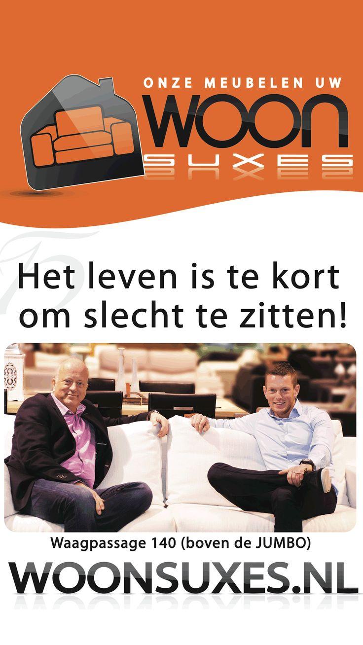 Het leven is te kort om slecht te zitten! Onze meubelen, uw woonsuxes. Waagpassage 140 (boven de Jumbo) #Lelystad www.woonsuces.nl