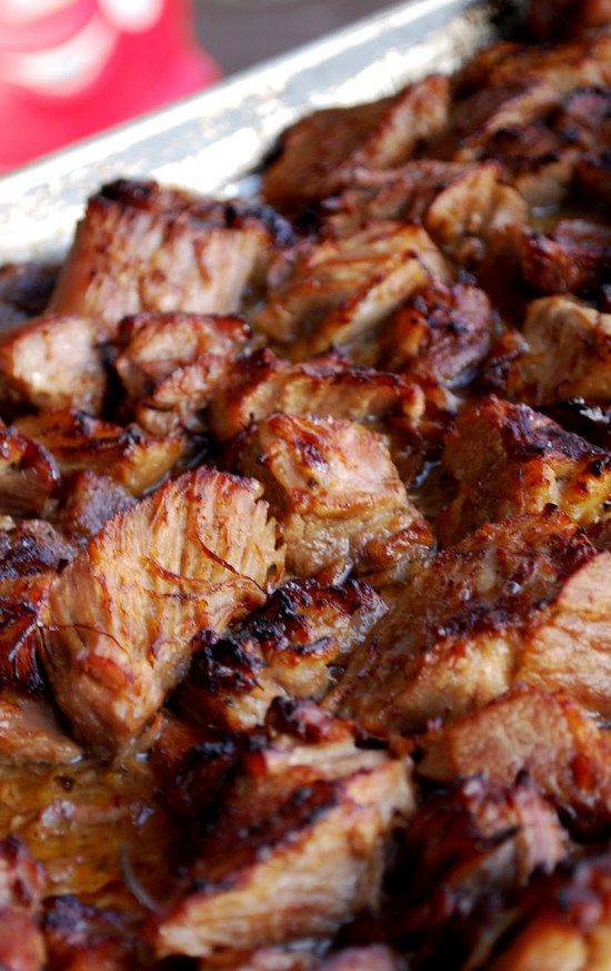 Pork Carnitas. We are talking melt-in-your-mouth kinda of carnitas:) Look out taco truck!