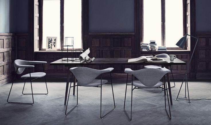 Image result for Beetle Dining Gubi Chair back