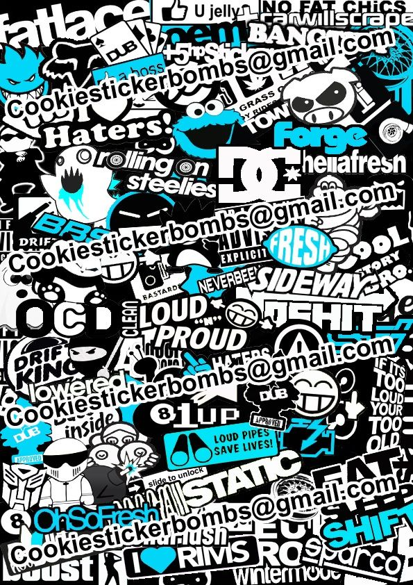 17 best images about stickers bomb on pinterest