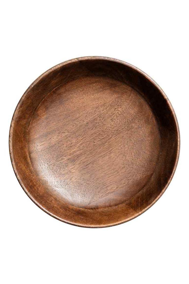 Drewniany półmisek - Naturalny ciemny - HOME | H&M PL