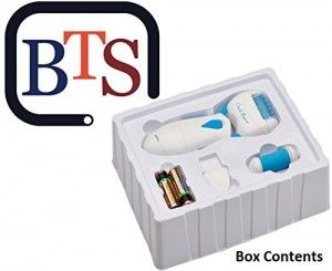 BTS's Foot File Callus Remover is a powerful callus remover that is gentle and tender on your feet,and it is also easy to use.