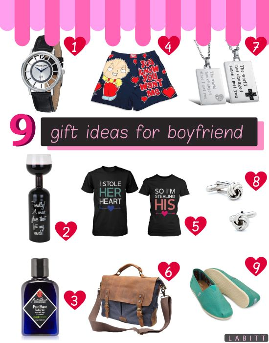 9 Great Gift Ideas For Your Boyfriend