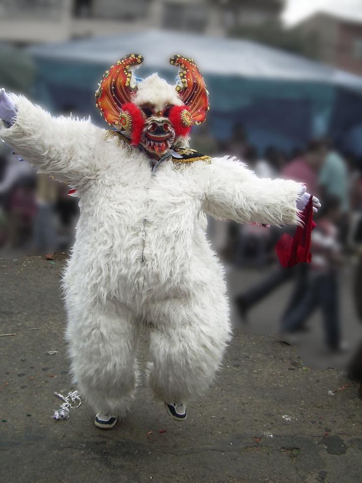 El Oso de la Diablada, Caranval Bolivia